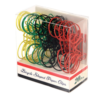 Bicycle Shaped Paper Clips