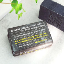 Load image into Gallery viewer, Charcoal Soap Detox Bar