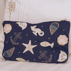 Seashell Travel Pouch