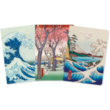 Load image into Gallery viewer, Flame Tree Notebooks Japanese Woodblock
