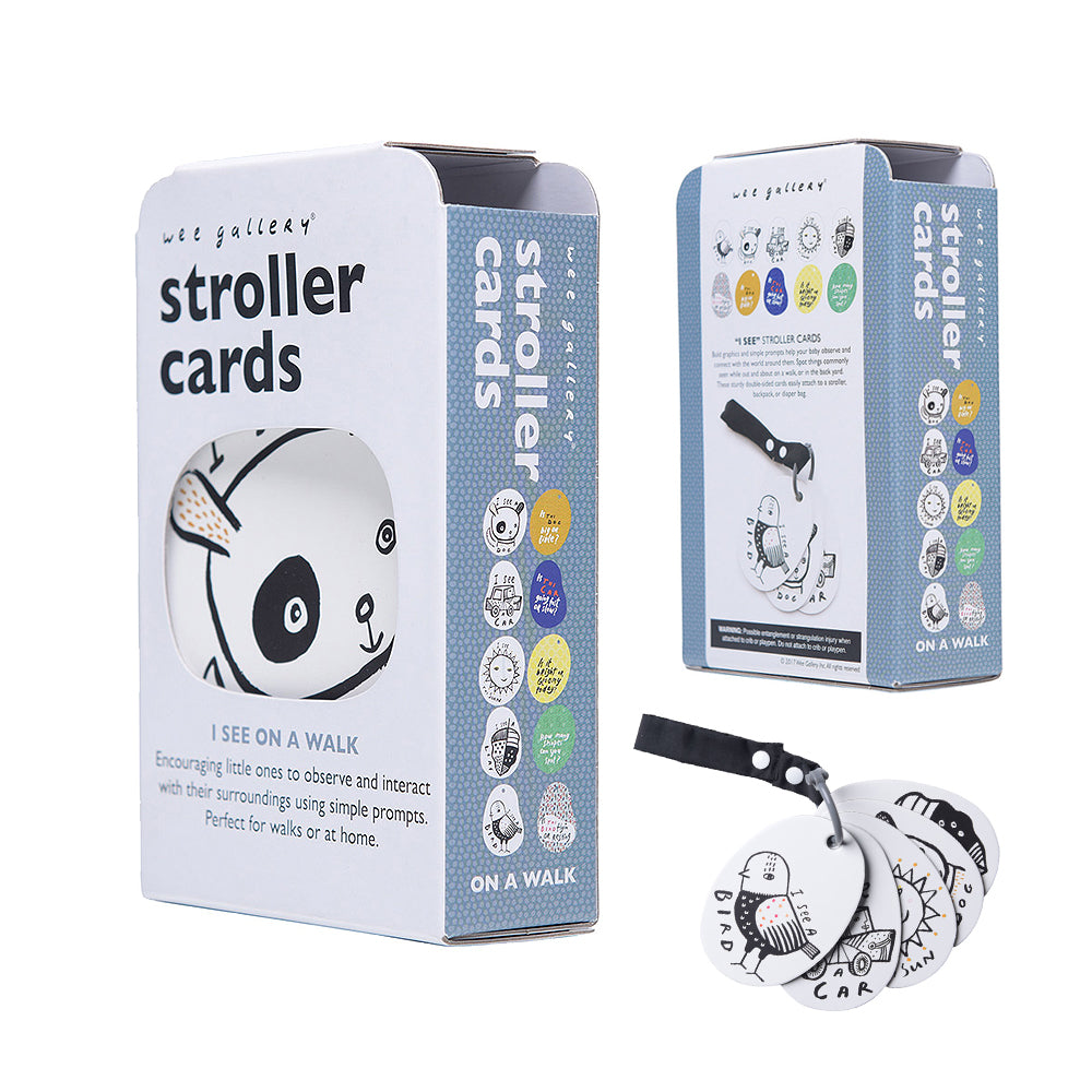 Stroller/ Pushchair Cards -I see on a walk