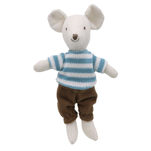 Linen Mini Mouse Boy Soft Toy
