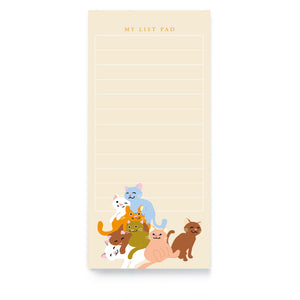 Cat List Pad