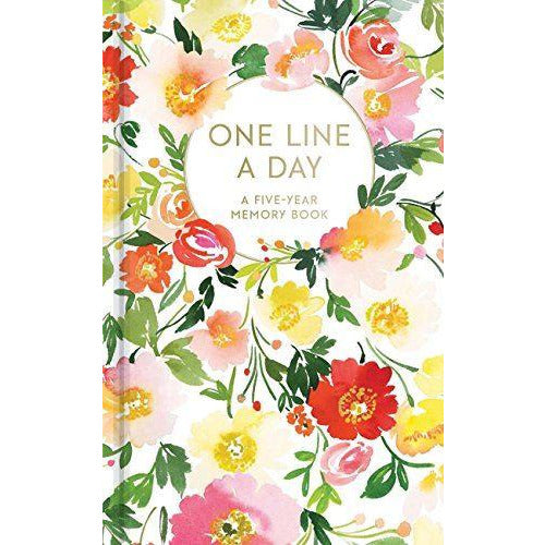 One Line A Day Floral