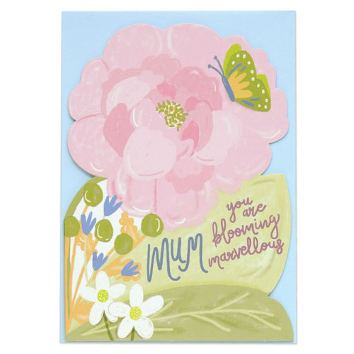 Bloomin Marvellous Mum Card