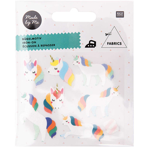 Iron on Rainbow Unicorn Transfers