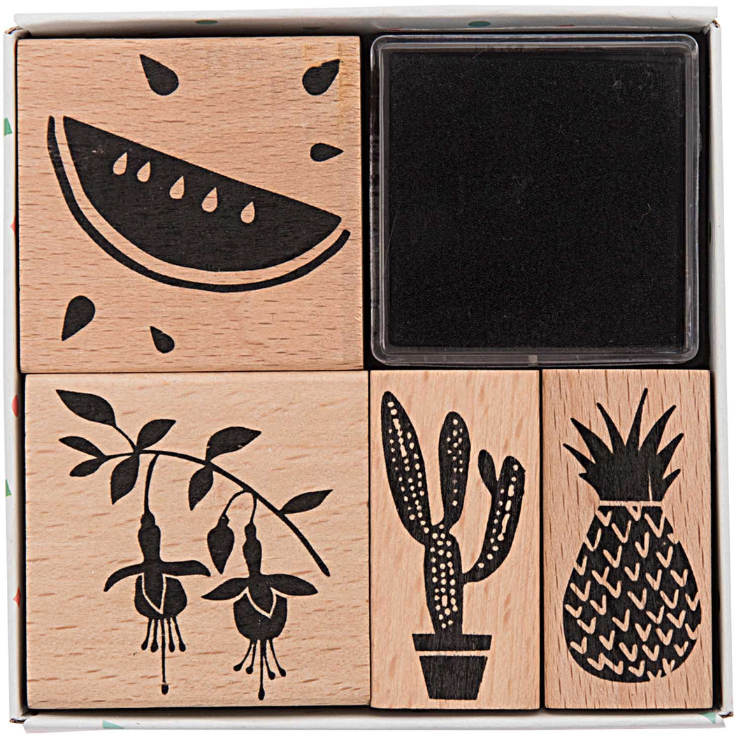 Tropical Stamp Set