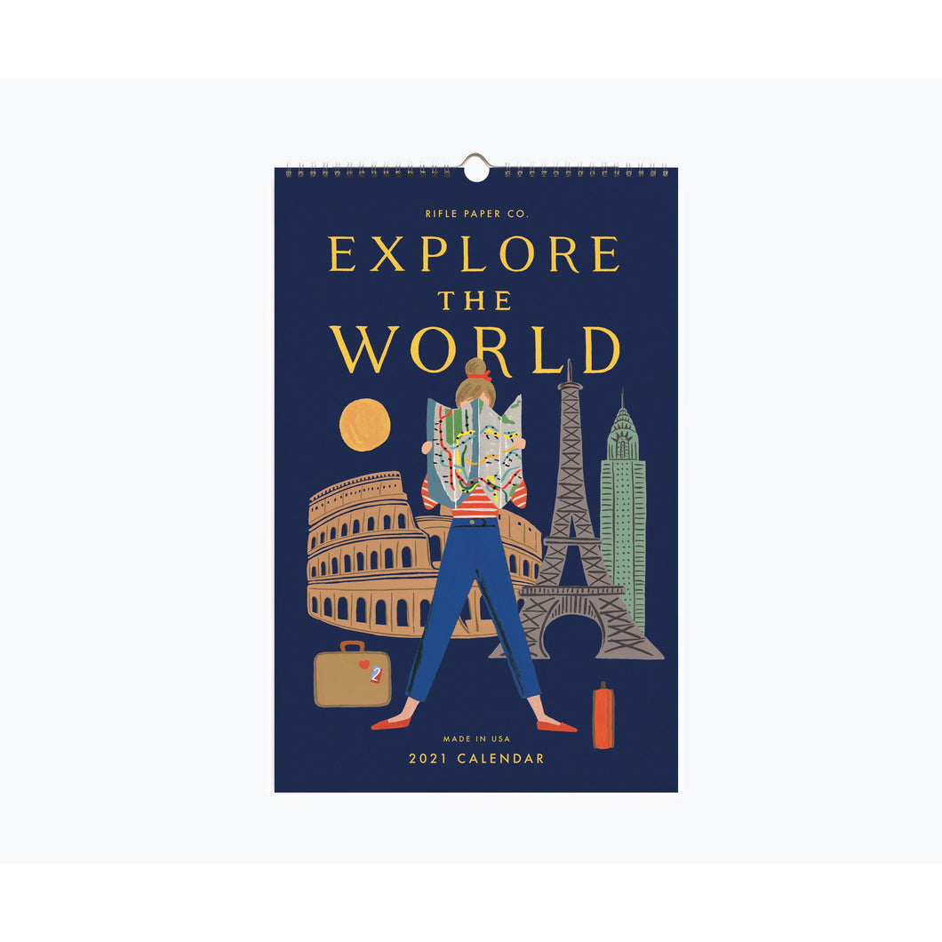 Explore The World Calendar 2021 Rifle