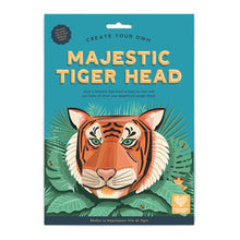 Load image into Gallery viewer, Make Your Own Majestic Tiger Head