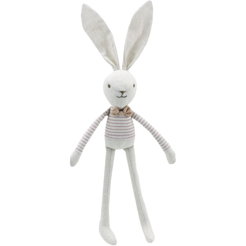 Linen Boy Hare Soft Toy