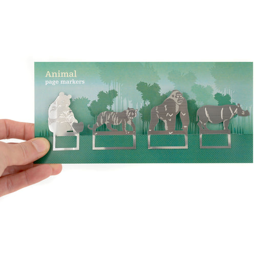 Jungle Animal Book Marks