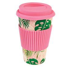 Load image into Gallery viewer, Tropical Bamboo Travel Mug