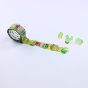 Washi Tape Cactus Stickers