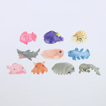 Load image into Gallery viewer, Washi Tape Fish stickers