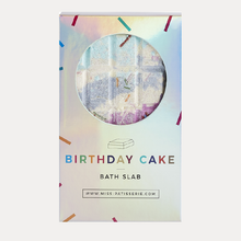 Load image into Gallery viewer, Birthday Cake Bath Slab