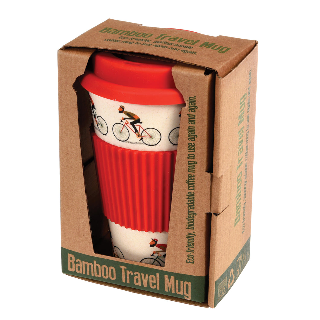 Bicycle Bamboo Travel Mug