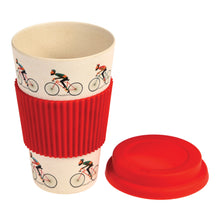Load image into Gallery viewer, Bicycle Bamboo Travel Mug