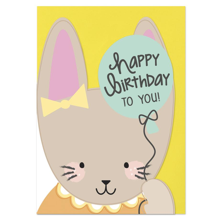 Birthday Bunny Card