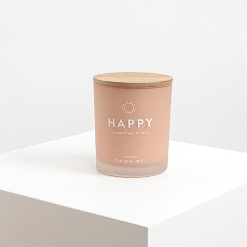 Happy Scented Candle