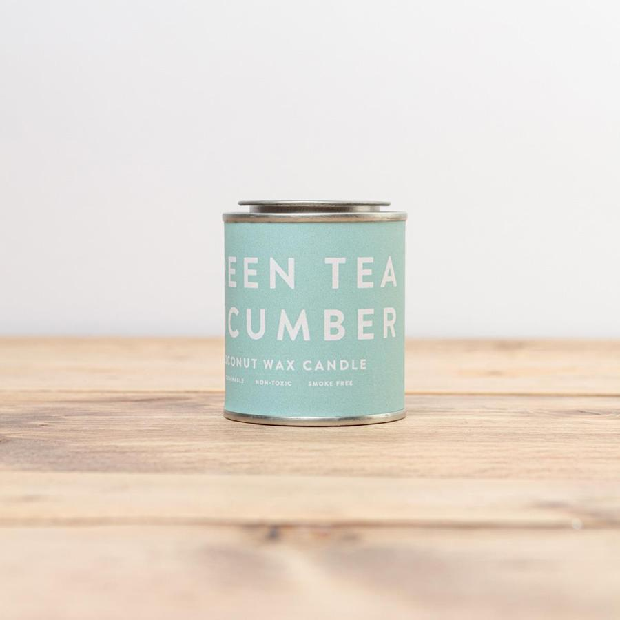 Green Tea Cucumber Candle