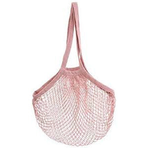 Cotton String Bag Dusky Pink