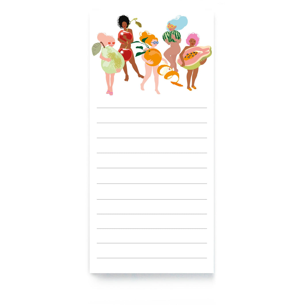 Fruity Nudies Magnetic List Pad