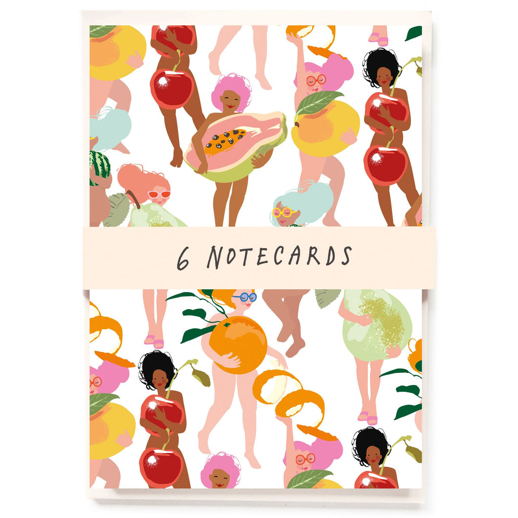 Fruity Nudies Notecards