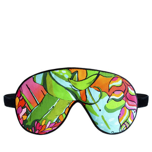 Tropical Flower Eye Mask