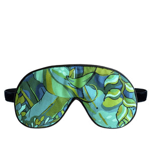 Jungle Leaf Eye Mask