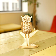 Load image into Gallery viewer, Owl 3D Wooden Puzzle
