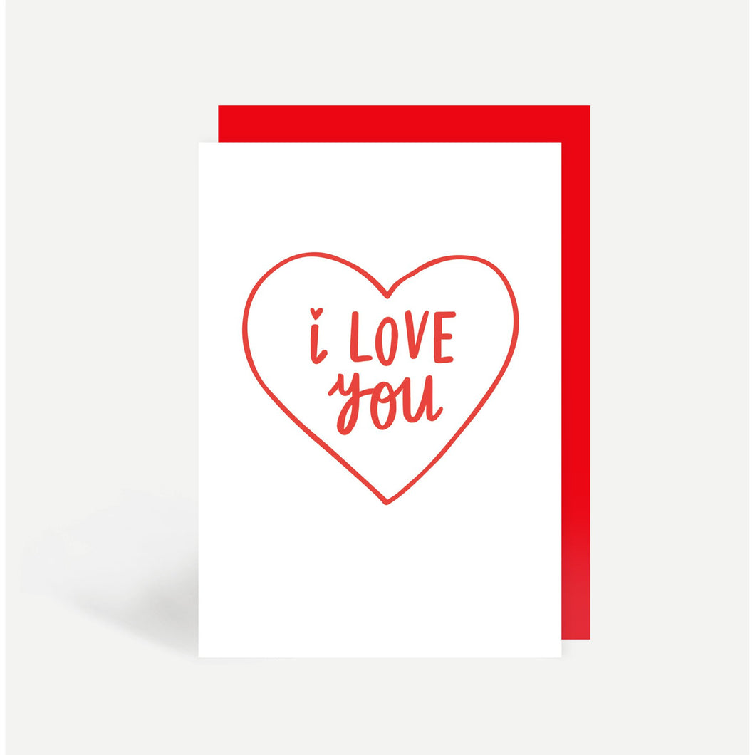 I Love You Card