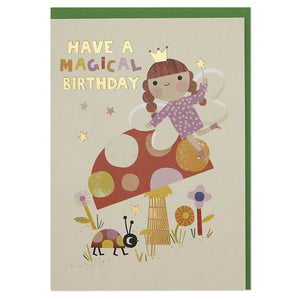Magical Fairy Birthday Card