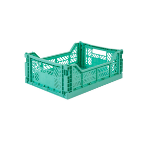 Medium Folding Crate Mint