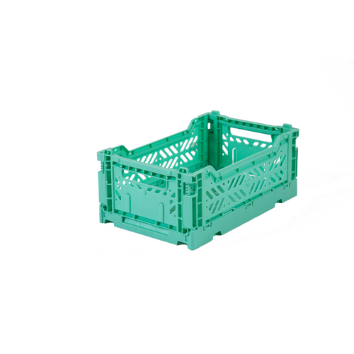 Mini Folding Crate Mint