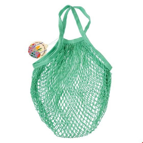 Organic Cotton String Bag Mint Green