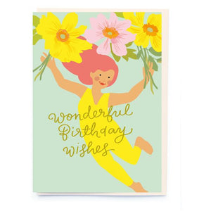 Wonderful Birthday Wishes Card