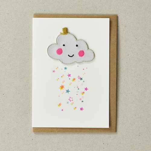 Iron on Cloud Card