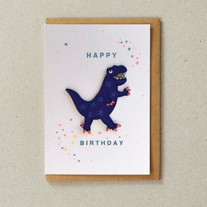 Iron on Dinosaur Card