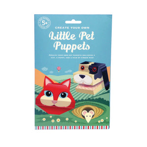 Create Your Own Little Pet Puppets