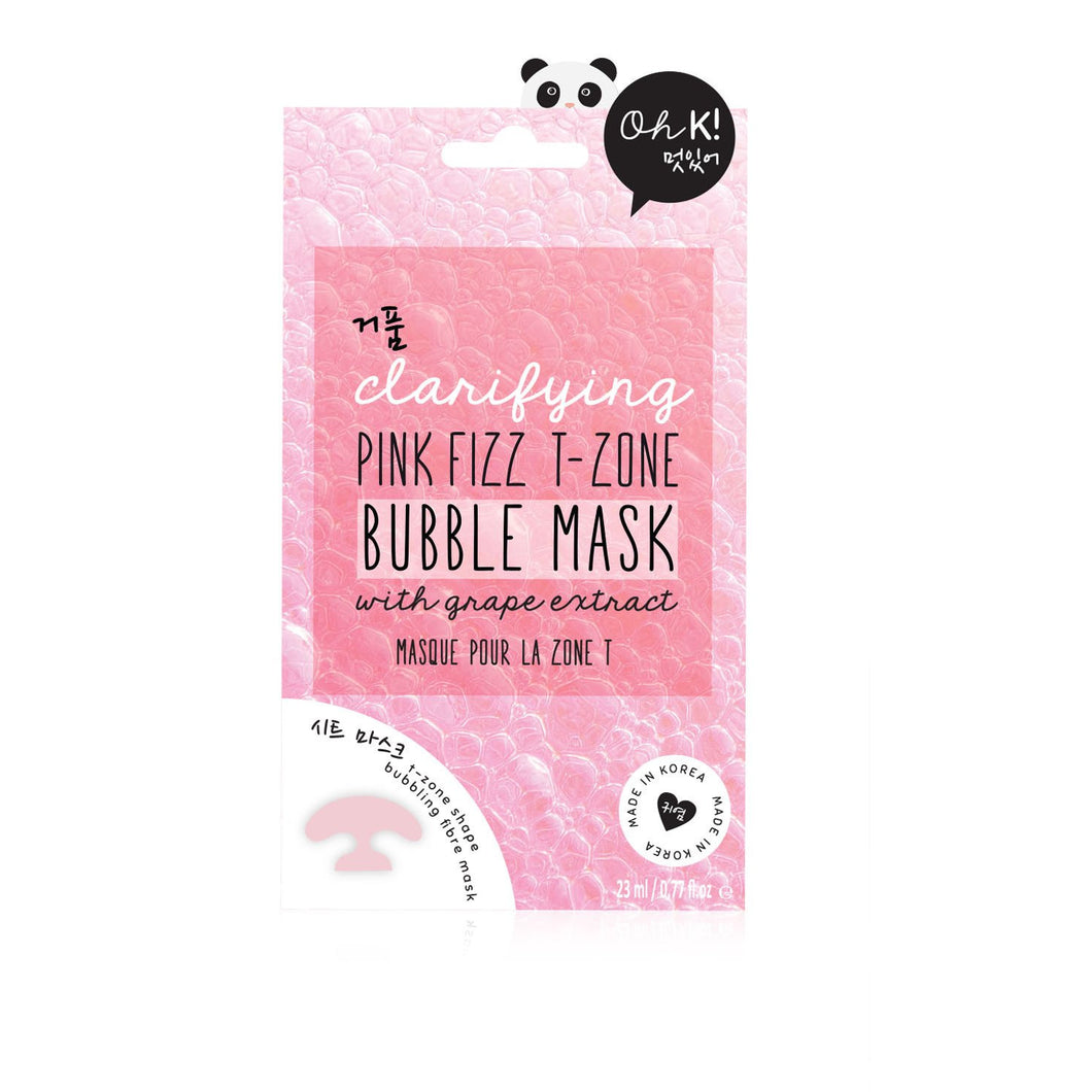 Pink Fizz T-Zone Bubble Mask
