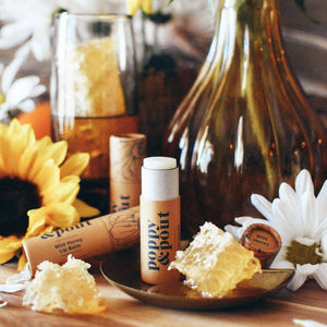 Poppy and Pout Wild Honey Lip Balm