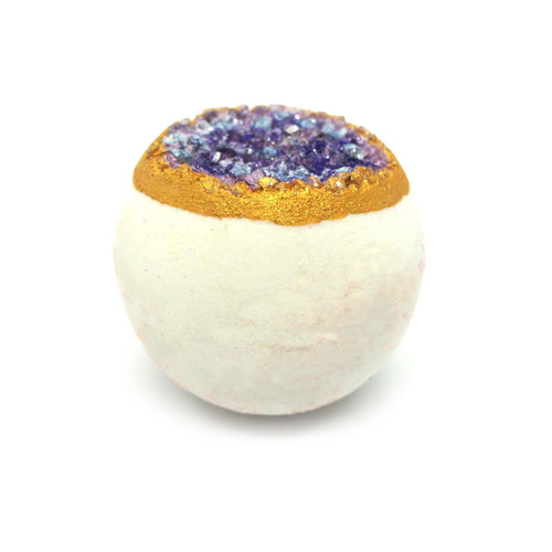 Geode Bath Ball Lavender - Sleep Essential Oil