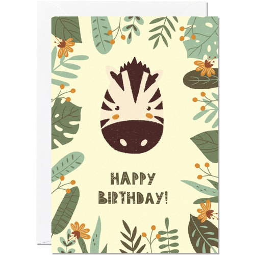 Jungle Birthday Card