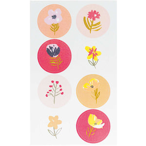 Bright Flower Stickers