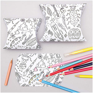 Colour Your Own Gift Boxes
