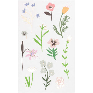 Wild Flower Stickers