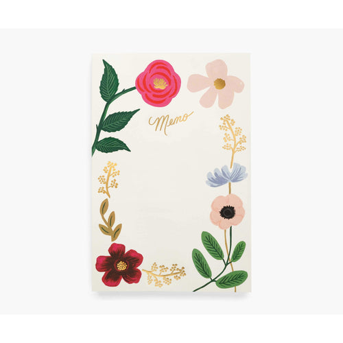 Rifle Floral Memo Notepad