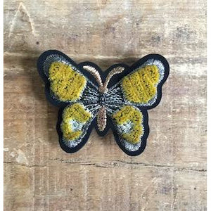 Golden Butterfly Pin