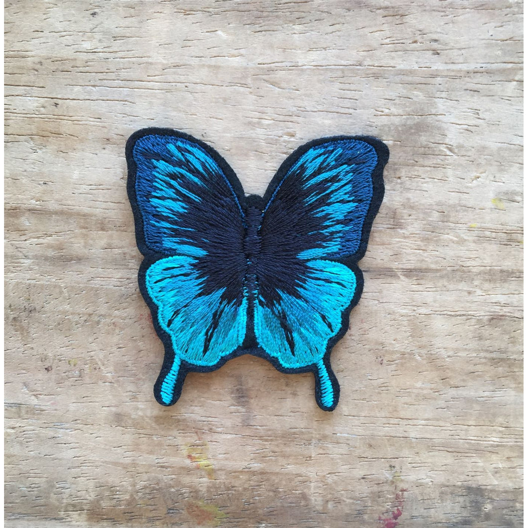 Turquoise Butterfly Pin