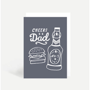 Cheers Dad Card